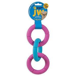 Brinquedo JW Correntes Invincible - Mini Rosa