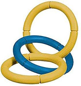 Brinquedo JW Correntes Invincible - G Amarelo