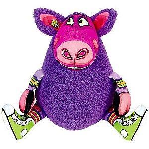 Brinquedo Pelúcia Gruntleys - Mini Roxo Fatcat