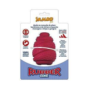 Brinquedo Mordedor Recheável para Cães Jambo Rubber - Médio