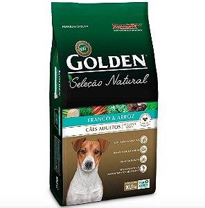 Ração para Cachorro Adulto Raça Pequena Golden Seleção Natural - Frango e Arroz 10,1kg