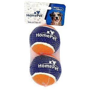 Brinquedo para Cães HomePet - Bola de Tênis G