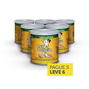 Leve 6 Pague 5 - Pet Delícia Risotinho de Frango