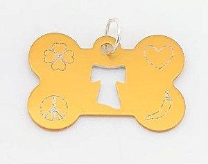 Plaquinha Amuleto de Proteção para Pet