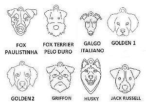 Dogs Colar Coleção Família (raças de F a R)