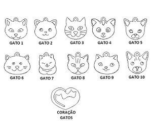 Gatos para Pulseira Coleção Família