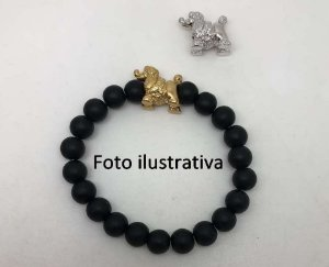Pulseira Poodle Onix