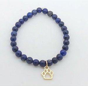 Pulseira Lápis Lazuli Pata