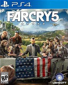 Far Cry 5  - PS4 - Mídia Digital