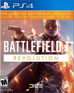 Battlefield 1 Revolution  - PS4 - Mídia Digital