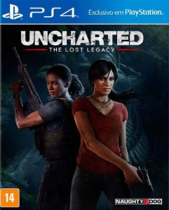 UNCHARTED: The Lost Legacy - PS4 - Mídia Digital
