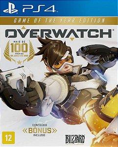 Overwatch Edição Lendaria - PS4 - Mídia Digital
