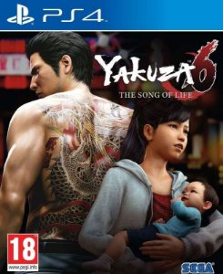 Yakuza 6 The Song of Life - PS4 - Mídia Digital