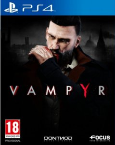 Vampyr - PS4 - Mídia Digital