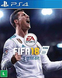 FIFA 18 - PS4 - Mídia Digital