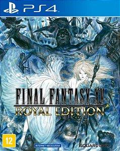 Final Fantasy XV Royal Edition - PS4 - Mídia Digital