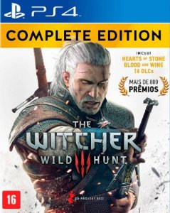 The Witcher 3: Wild Hunt – Complete Edition - PS4 - Mídia Digital