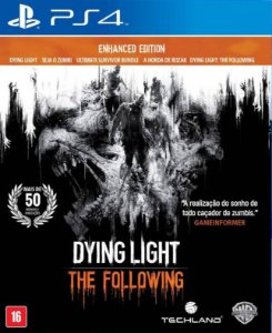 Dying Light The Following - PS4 - Mídia Digital