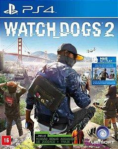 Watch Dogs 2 - PS4 - Mídia Digital