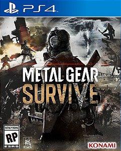 Metal Gear Survive - PS4 - Mídia Digital