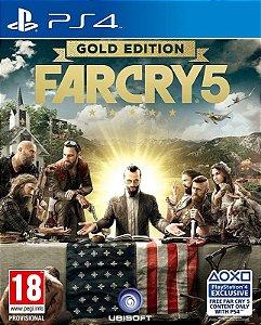 FAR CRY 5 GOLD EDITION - PS4 - Mídia Digital