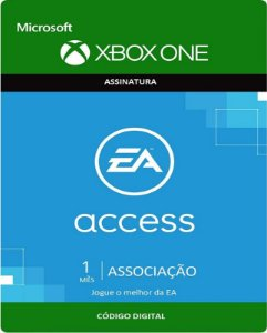 EA Access Xbox One - Assinatura 1 mes - Microsoft