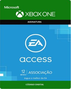 EA Access Xbox One - Assinatura 12 meses - Microsoft