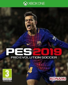 PES 2019 STANDARD EDITION - Xbox One - Mídia Digital