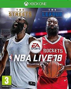 NBA LIVE 18 Edição The One - Xbox One - Mídia Digital