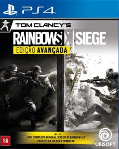 Tom Clancy's Rainbow Six Siege Advanced Edition - PS4 - Mídia Digital