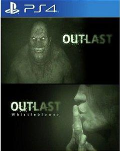 Outlast Bundle of Terror - PS4 - Mídia Digital