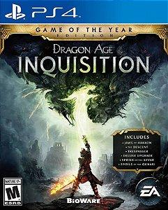 Dragon Age: Inquisition - Edição Jogo do Ano - PS4 - Mídia Digital