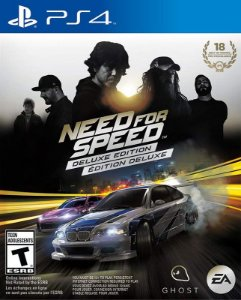 Need for Speed Deluxe Edition - PS4 - Mídia Digital