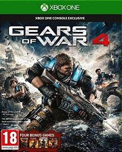 GEARS OF WAR 4 - Xbox One - Mídia Digital