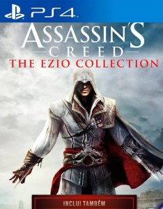 Assassin's Creed The Ezio Collection - PS4 - Mídia Digital