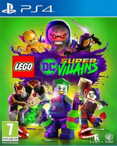 LEGO DC Super-Vilões - PS4 - Mídia Digital