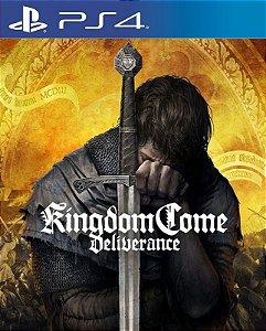 Kingdom Come Deliverance - PS4 - Mídia Digital