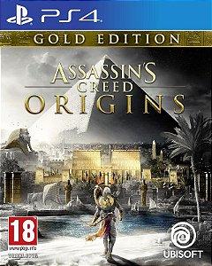 Assassins Creed Origins Gold Edition - PS4 - Mídia Digital