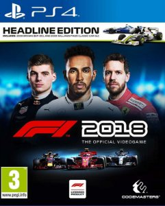 F1 2018 HEADLINE EDITION - PS4 - Mídia Digital