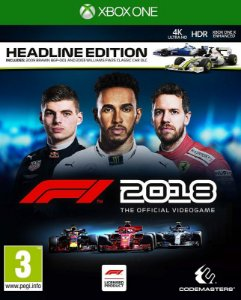 F1 2018 HEADLINE EDITION - Xbox One - Mídia Digital