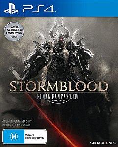FINAL FANTASY XIV: Stormblood - PS4 - Mídia Digital