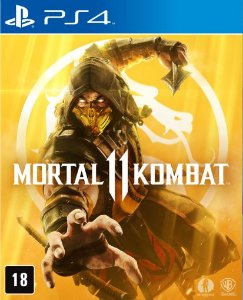 Mortal Kombat 11 - PS4 - Mídia Digital