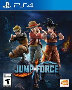 JUMP FORCE - PS4 - Mídia Digital