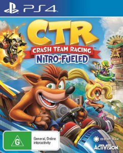 Crash Team Racing Nitro-Fueled - PS4 - Mídia Digital - PRÉ-VENDA