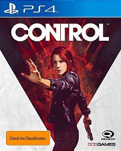 Control - PS4 - Mídia Digital - PRÉ-VENDA