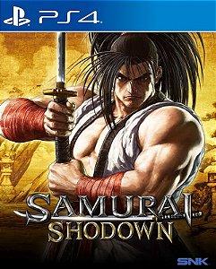 SAMURAI SHODOWN - PS4 - Mídia Digital - PRÉ-VENDA