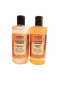 Kit Shampoo e Condicionador Cacho Terapia Chia e Linhaça Twoone Onetwo