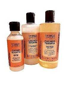 Kit Cacho Terapia: Shampoo + Condicionador + Creme de Pentear, Twoone Onetwo