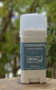Desodorante Natural uNeVie,70g