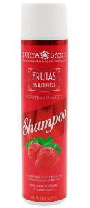 Shampoo Vegano Morango e Buriti, Surya Brasil, 300ml